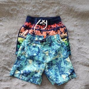 Oshkosh & Joe Fresh Swim Trunks Size 2T